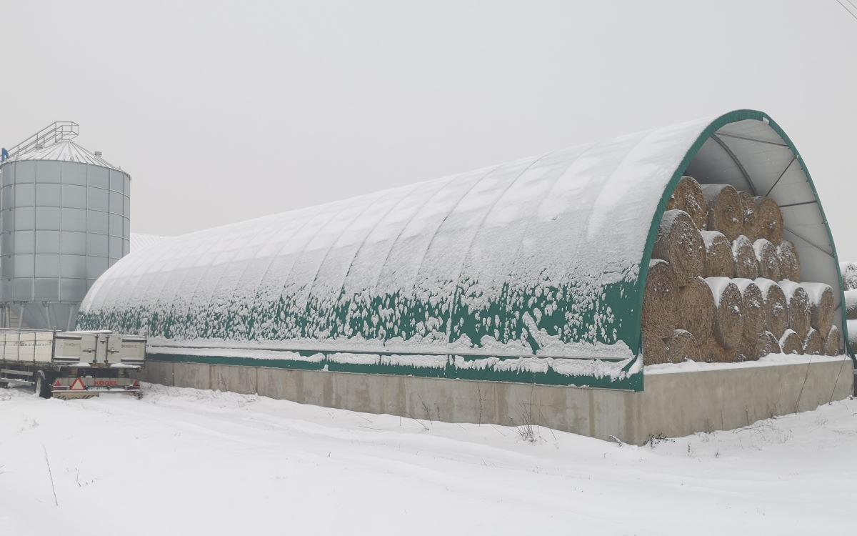 hale na bale zimą