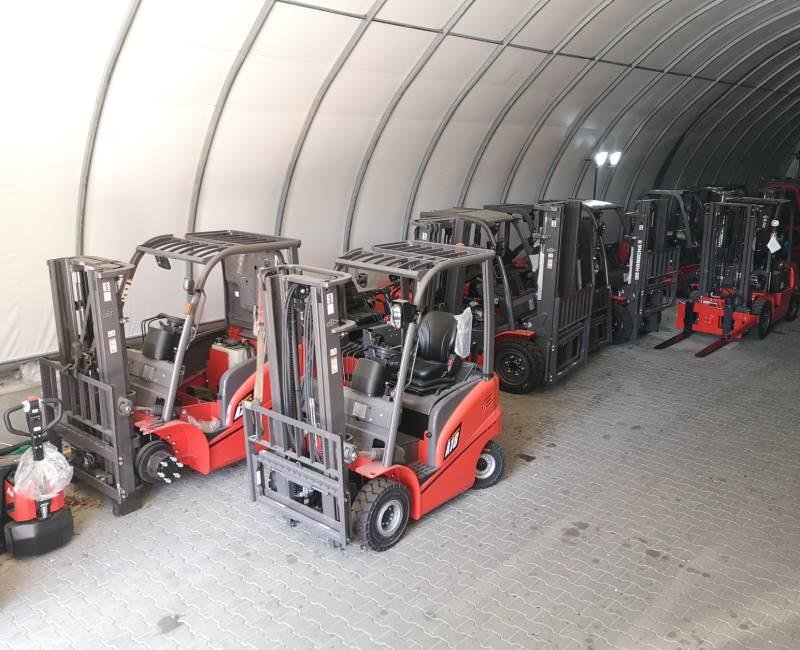 Garaż na wózki widłowe (male)